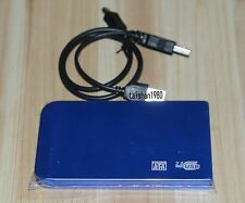 blue USB2.0 80GB External Hard Drive HDD Portable Laptop Mobile Hard Disk