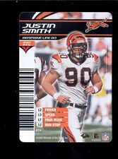 2003 NFL Showdown JUSTIN SMITH Cincinnati Bengals Rare Card