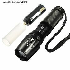 Military Grade Tactical Flashlight LED 1800 Lumens 2000x Waterproof G700 Style