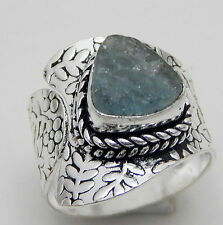 Rough Tanzanite 925 Sterling Silver Jewelry Adjustable Ring Us Size 6.5''A1