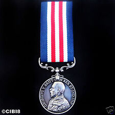 BRAVERY IN THE FIELD MILITARY MEDAL GEORGE 5TH BRITISH ARMY AWARD REPRO HONOR'