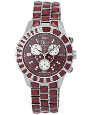 Dior Christal Stainless Steel Diamond Chronograph Ladies Watch - CD11431GM001