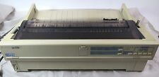 Epson LQ 1170 Dot Matrix Printer With Tractor Feed Nice Unit