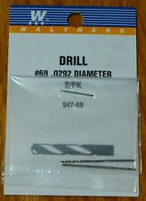 Walthers #947-69 Drill Bit #69 (2 pack) .0292 Diameter