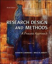 FAST SHIP - BORDENS ABBOTT 9e Research Design and Methods: A Process Approac BM5