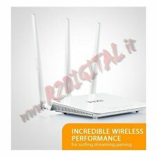 ACCESS POINT TENDA 2T3R WIRELESS 300M N 3  LAN WAN WIFI ROUTER RANGE EXTENDER