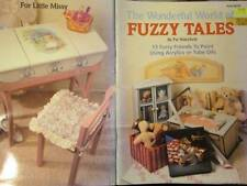 Wonderful World Of Fuzzy Tales Painting Book-Wakefield-Teddy Bears/Rabbit/Pig/El