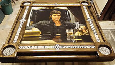 Domino Tables by Art with Scarface Domino Table Theme