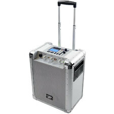 New Pyle PCMX265W Battery Powered Portable PA System W/ USB/SD/Aux & DJ Controls