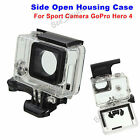 Side Open Skeleton Housing Protective Case Cover For Sport Camera GoPro Hero 4