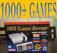 Nintendo NES Classic Edition 1000+ Games Modded Rapid Fire, Reset Mode.