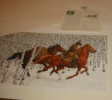 Mint Bev Doolittle Sacred Ground Signed Unframed Ltd Ed Lithograph 15% Off Sale