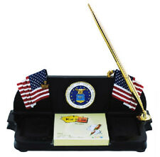 US Air Force Military Vanmark American Heroes Collectible Gift Desk Pen/Note Set