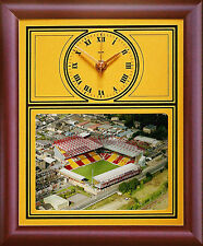 Football Clock Bradford City Coral Windows Stadium