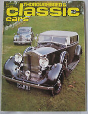 Thoroughbred & Classic Cars 02/1977 featuring Jowett Javelin, AC Cobra, MGA