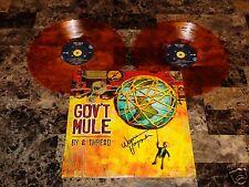 Warren Haynes Signed Gov't Mule Limited Edition Orange Vinyl 2LP Allman Brothers