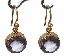 Crystal Crafts India Meticulous amethyst Earrings For Women