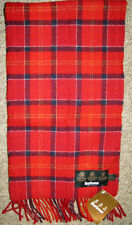 Barbour Tartan Lambswool Red Cardinal Scarf USC0001TN12