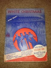 'WHITE CHRISTMAS - IRVING BERLIN'S HOLIDAY INN -1942 - BING CROSBY/FRED ASTAIRE