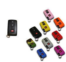 Toyota Pruis 04-09 Key Fob Cover Jacket Silicon Black Pink Blue Red Red Purple