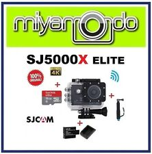 SJCAM Original SJ5000X WiFi Action Camera (Black)+Monopod +16GB +Battery+Charger