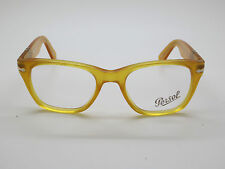 Authentic PERSOL 3039-V 204 Yellow RX Eyeglasses 52mm w/ Case