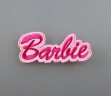 IRON PATCH LOGO embroidered sew BADGE CUSTOM EMBLEM BARBIE doll kid toy 2