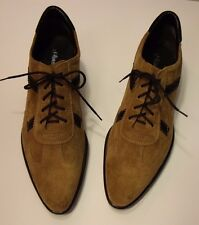 S.Oliver Germany Women's Brown Suede Oxford Pumps/Shoes Size 41