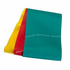 TheraBand Professional Latex Resistance Bands YELLOW-RED-GREEN- 4 Foot Set