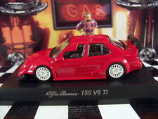KYOSHO ALFA ROMEO 155 V6 Ti RED ALFA ROMEO COLLECTION 4 SCALE 1:64