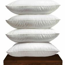 **SPECIAL OFFER** 4 X DUCK FEATHER HOTEL QUALITY PILLOWS