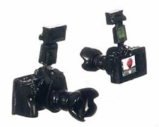 Camera set, Doll House Miniature, Price is for ONE CAMERA ONLY 1.12th Scale