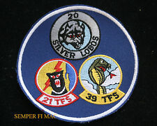 35Th Tfw 20Th Silver Lobos 21St 39Th F4 Phanto Wild Weasel Patch Us Air Force