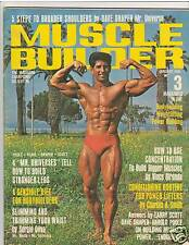 Muscle Builder Bodybuilding Fitness Magazine Chuck Collras Mr California 1-68