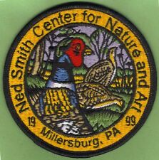 """Pa Pennsylvania Fish Game Commission Related 1999 Ned Smith Pheasant 4"""" Patch"""