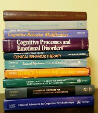 LOT 12 books Cognitive Behavior Therapy CBT Clinical Psychotherapy Psychology