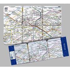 SOUS VERRES SOUS BOCK PLAN DU METRO PARISIEN PARIS RATP