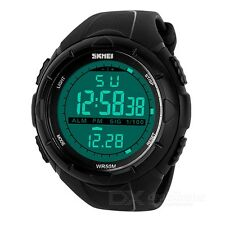 SKMEI Men's Digital Display Digital Sport Watch - Black