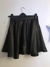 BOOHOO, Size 10, Gorgeous Satin Flippy Skater Skirt, MUST SEE! FAB CONDITION!