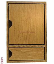 Wooden Key Cabinet with Drawer - BNIP - Wall Mountable