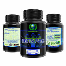 60 CAPSULES TESTO POWER MUSCLE GROWTH + STRONGEST TESTOSTERONE BOOSTER TRIBULUS