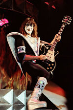 "12""*18"" concert photo of Ace Frehley playing with Kiss at Wembley in 1980"