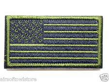 OD US National Flag Army Military Uniform Velcro Patch for Airsoft AEG (389)
