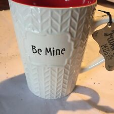 Roscher Large Coffee Mug Be Mine White Red Black New Valentines DayGift