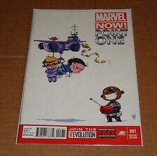 Marvel Now Point One #1 Skottie Young Baby Variant Edition 1st Print Avengers
