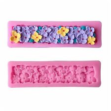 Silicone Flower 3D Mold Cookware Dining Bar Non Stick Cake Decorating Fondant