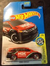 Hot Wheels Super CUSTOM Honda Odyssey with Real Riders New!!