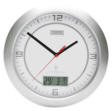 Rc Wall CLOCK HE-CLOCK-26 with Tag/Date/Temperature Display