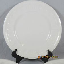 Wedgwood Colosseum Bread Butter plate white embossed rim beaded bicentenary chip