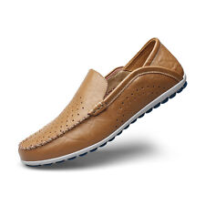 Men's Shoes Fashion Comfort Leather Flats Silp on Loafers  Dress Shoes